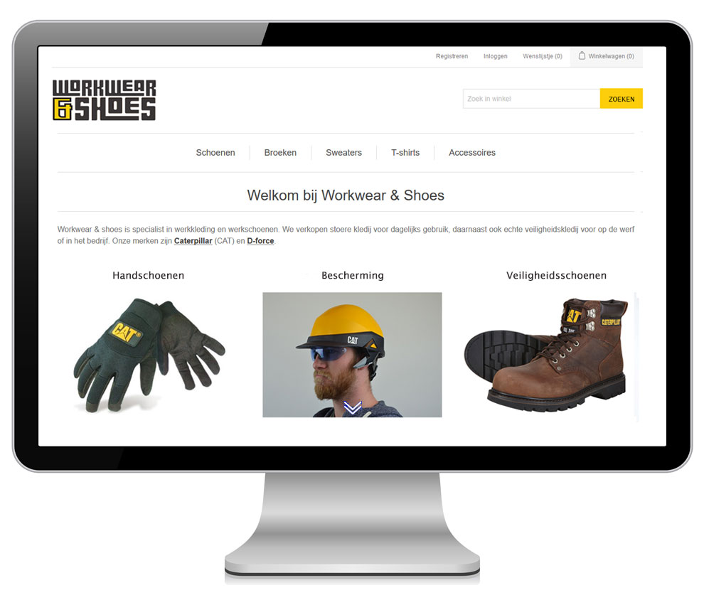 Webshop custom development
